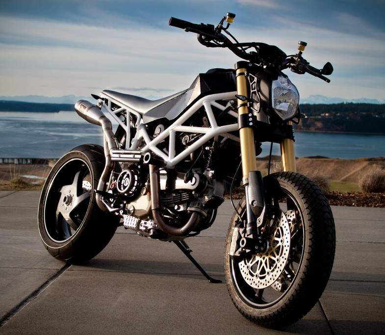 Ducati Hypermotard Custom By Mic