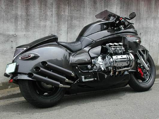 Honda Valkyrie by Whitehouse