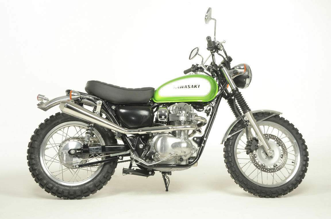 kawasaki w800 scrambler by earnshaws. Black Bedroom Furniture Sets. Home Design Ideas