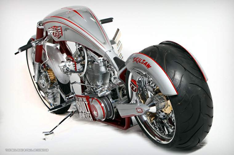 Paul Jr Designs Skil Saw 75th Anniversary Edition Chopper
