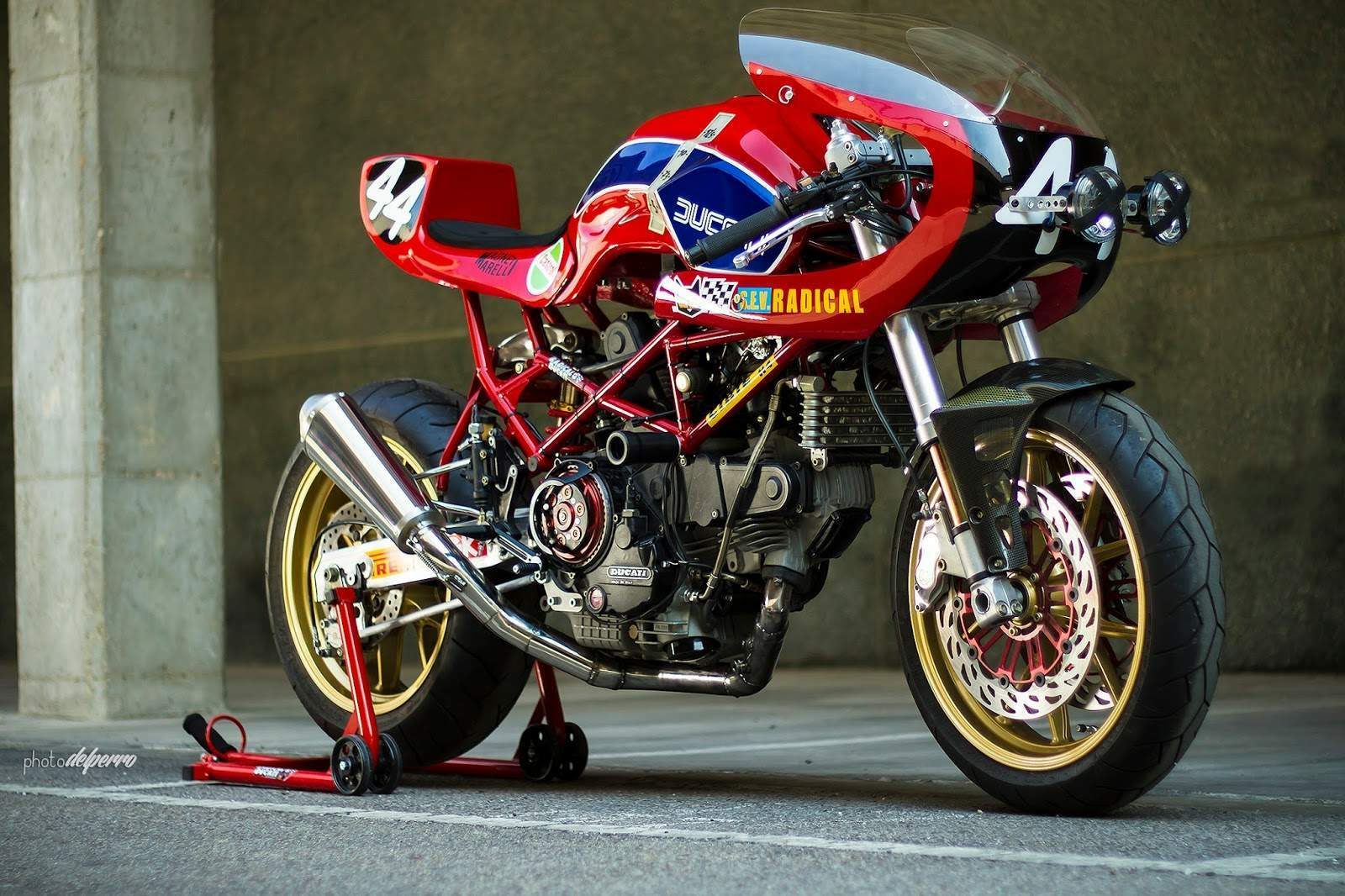 Radical Ducati S.L.: From USA TWINLINE MOTORCYCLES makes