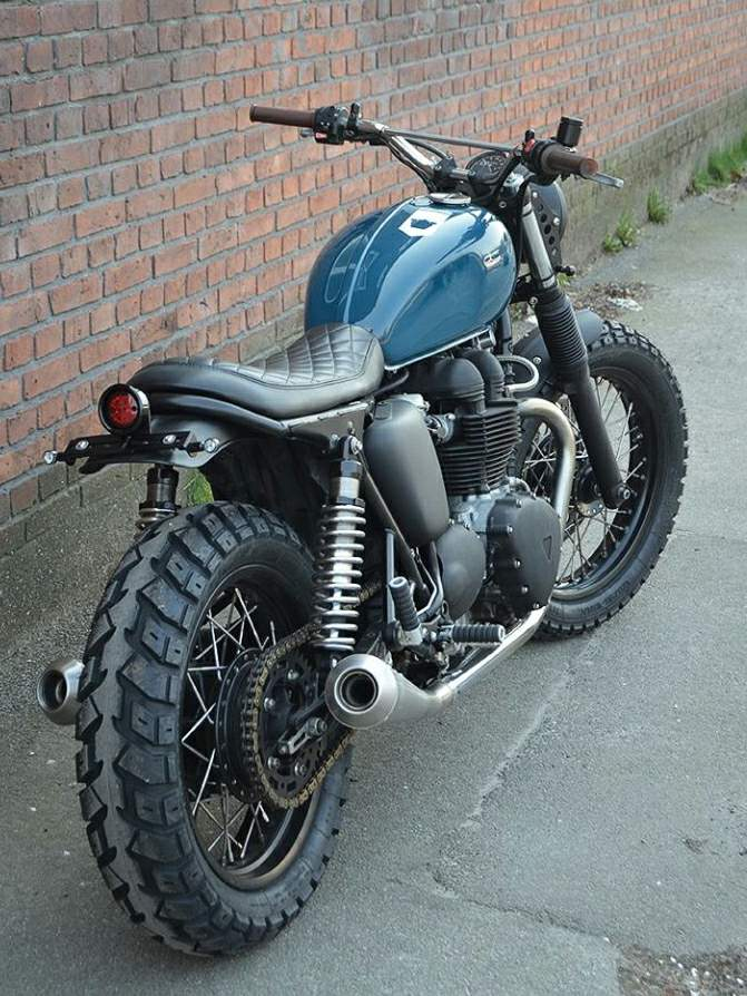 Triumph Thruxton By Wrenchmonkees
