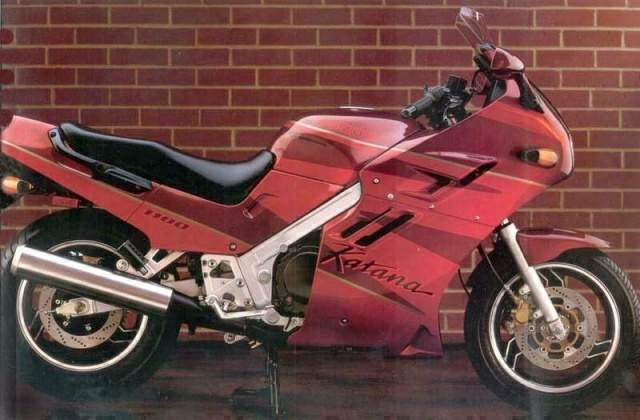 The Electric Windshield SPS Suzuki Power Shield Was Standard On 1100 Cc Models GSX750F Didnt Have It