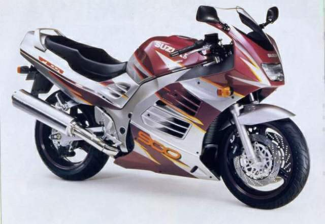 Service Manual Suzuki Rf 900 R