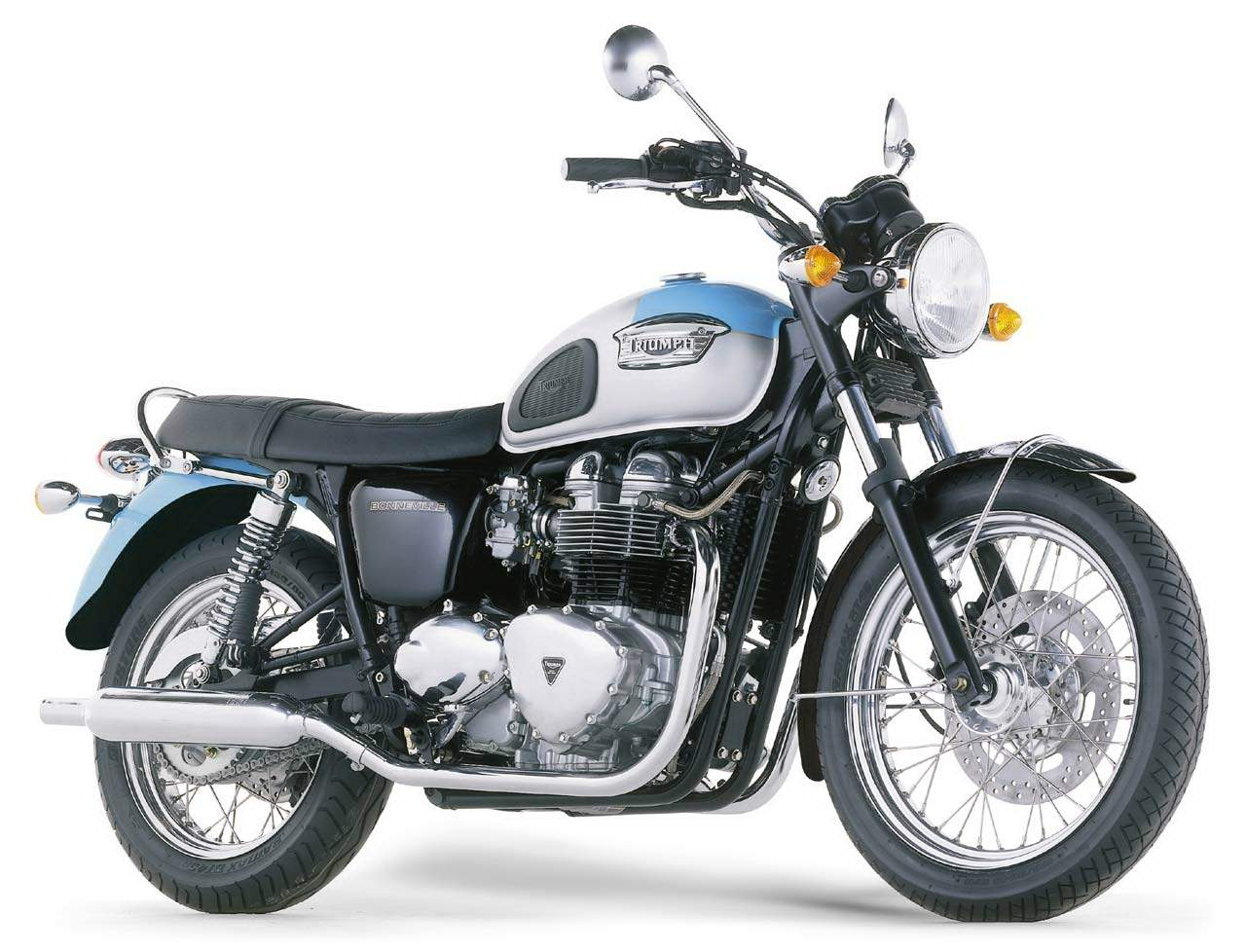 2004 Triumph 800 Bonneville Service Manual