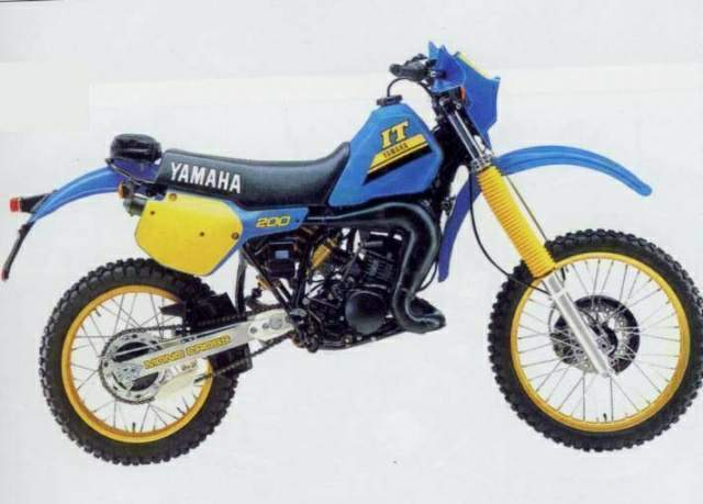 Yamaha IT 200Yamaha It 200