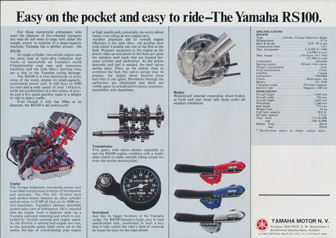 Fantastic Yamaha Rs 100 Cdi Wiring Diagram Adornment - Wiring ...