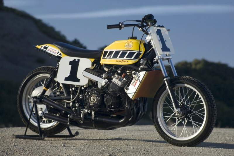 He later admitted that the TZ750 dirt-tracker, which could hit speeds