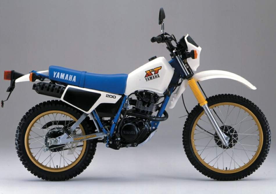 Yamaha XT 200Yamaha It 200
