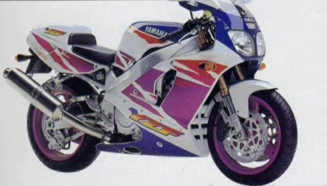 yamaha's fz750 had been one of the m company's best-sellers in the  mid-'eighties, but by the early 'nineties it was dated outhandled and  outpowered by a new