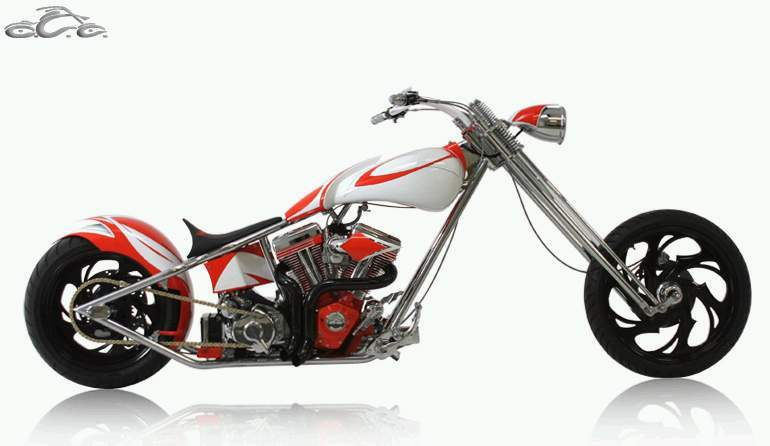 Occ Hooters Bike on Motos Honda Cr