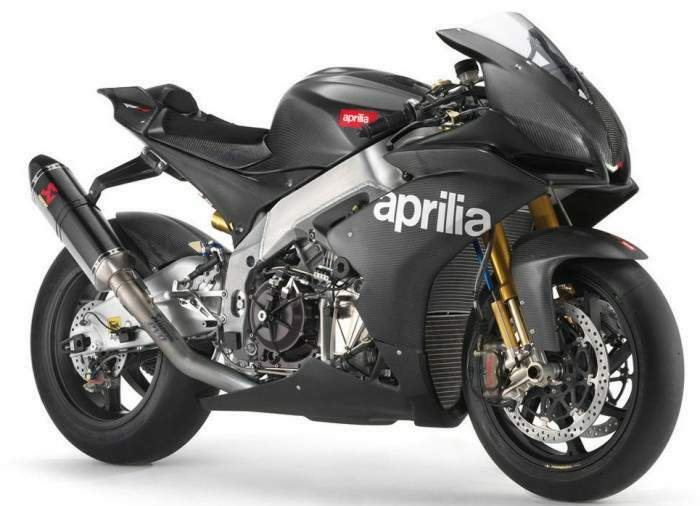 2009 Aprilia RSV4 Factory Black Edition