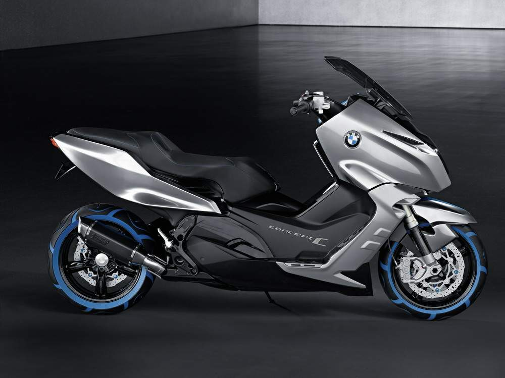 bmw concept c scooter. Black Bedroom Furniture Sets. Home Design Ideas