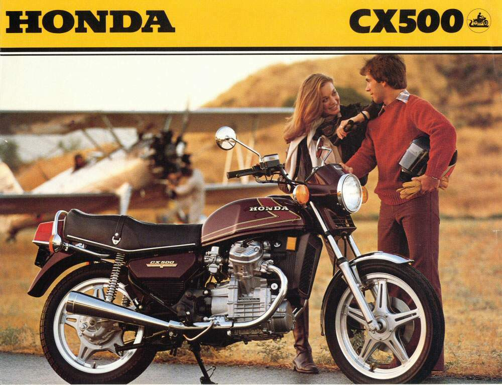Honda Cx on Honda Gl500 Specs