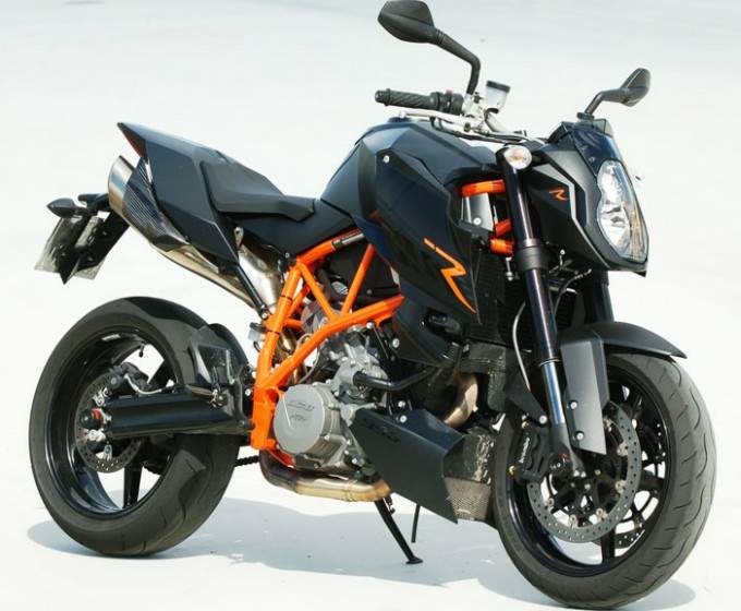 2009 KTM 990 Super Duke R Black Series