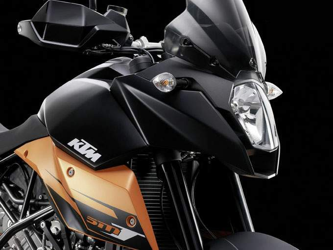 2009 KTM 990 Supermoto T Headlight