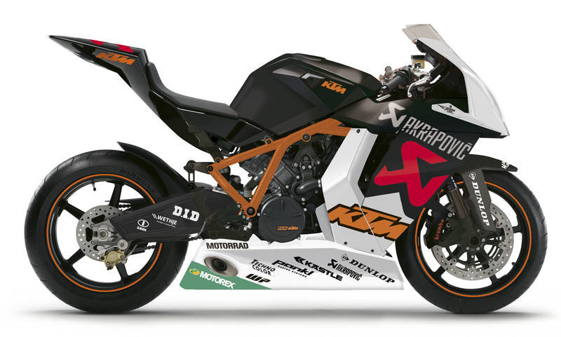 KTM 1190 RC8 R McWilliams Limited Edition Sport Bike
