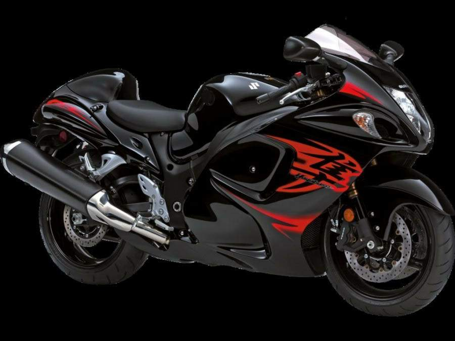 For 2011, The Hayabusa Is Available In New Colors And Graphics (Pearl  Mirage White With Gold Trim And Pearl Nebular Black With Red Trim).