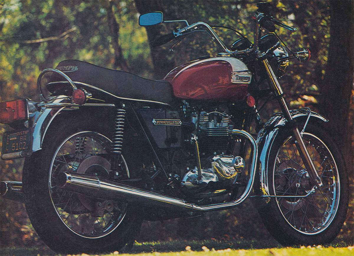 Triumph Bonneville 750 T140 1970 Trophy 650 Wiring Diagram Thought Of A Multi Cylindered Water Cooled Vibration Free Dead Reliable Solid State Motorcycle As Lifeless Refrigerator Will Never Understand