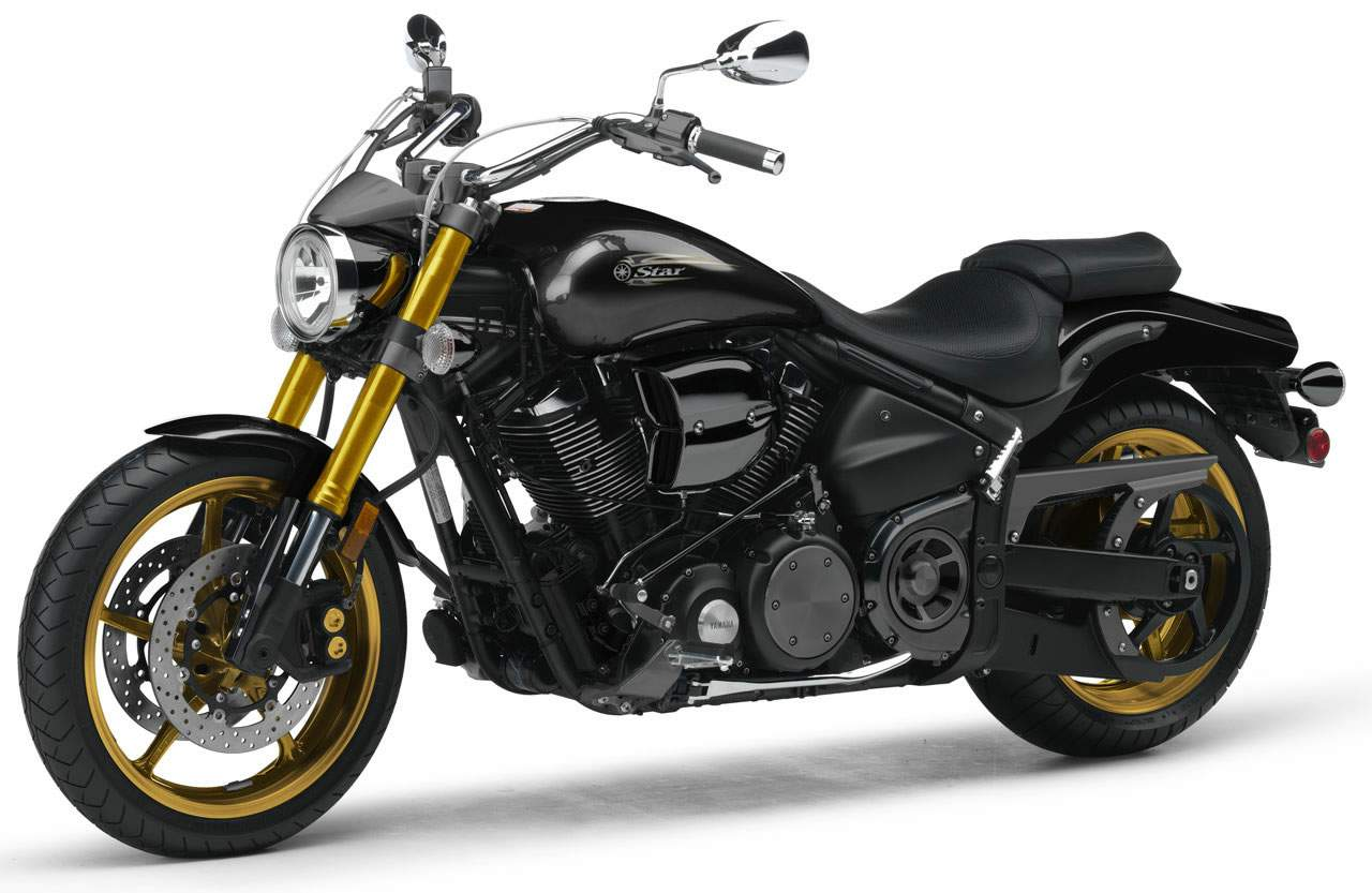Yamaha road star yamaha xv 1700 road star warrior publicscrutiny Choice Image