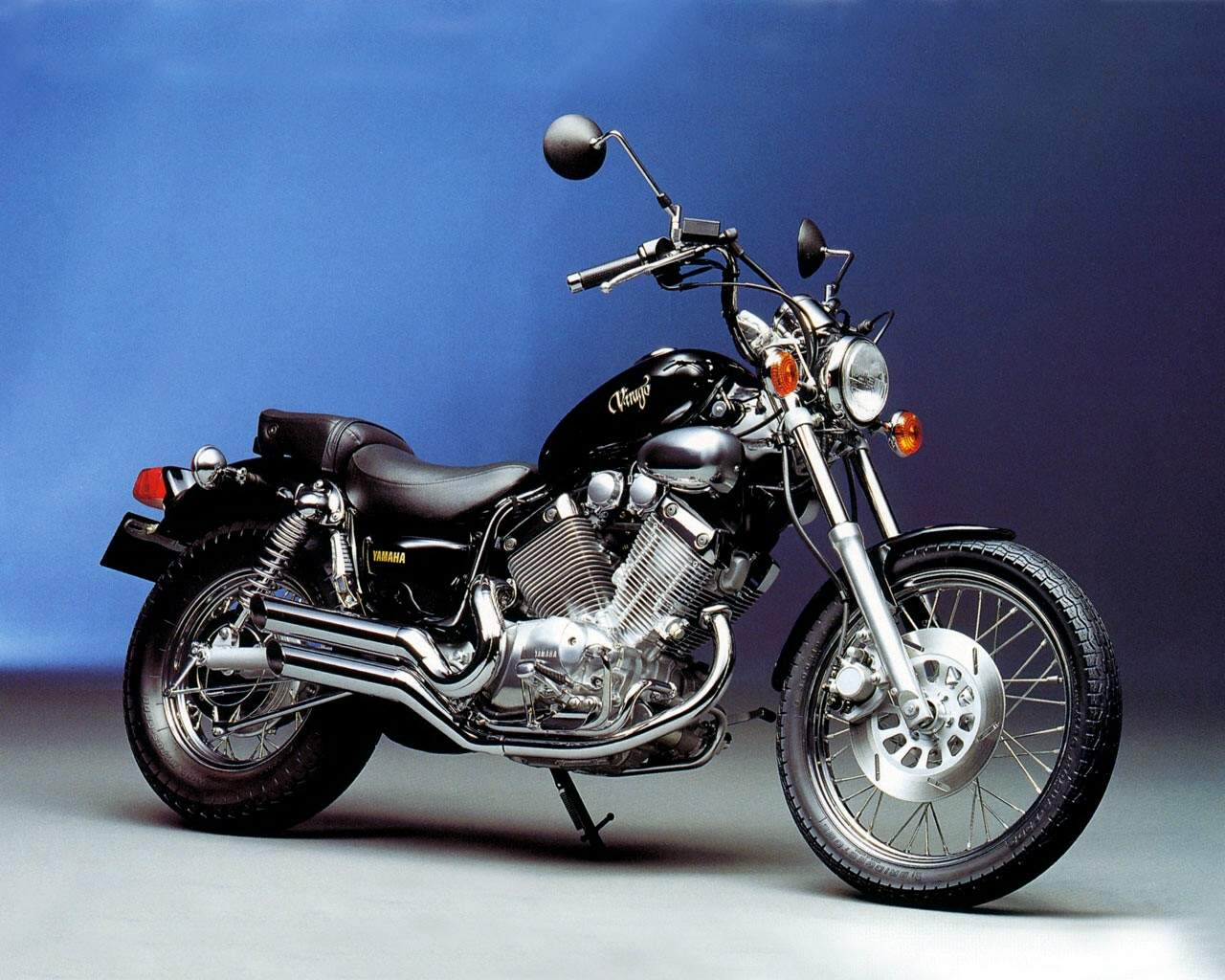 yamaha xv535 virago. Black Bedroom Furniture Sets. Home Design Ideas