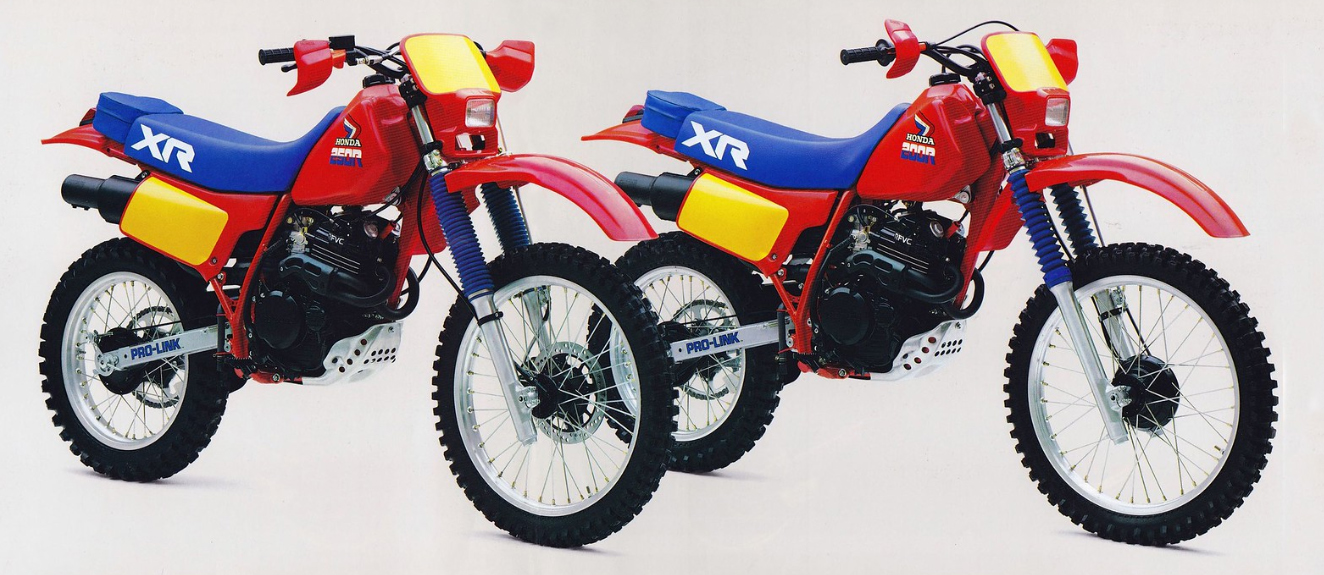 The advantages of the Honda XR 250 and specifications 75