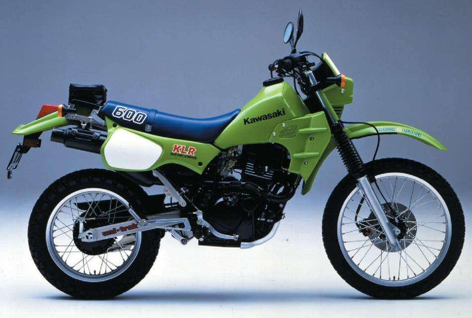 Kawasaki klr 600 for Honda maintenance a1
