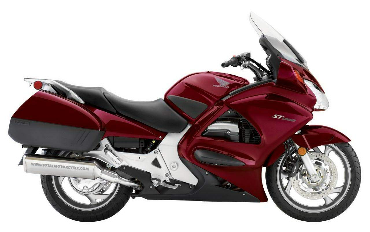Honda St1300 Motorcycle Engine Specifications Powerful New Liquid Cooled 1261cc Longitudinally Mounted V 4 Produces 125 Bhp At 8000 Rpm And 85 Lb Ft Of Torque 6000 For Effortless