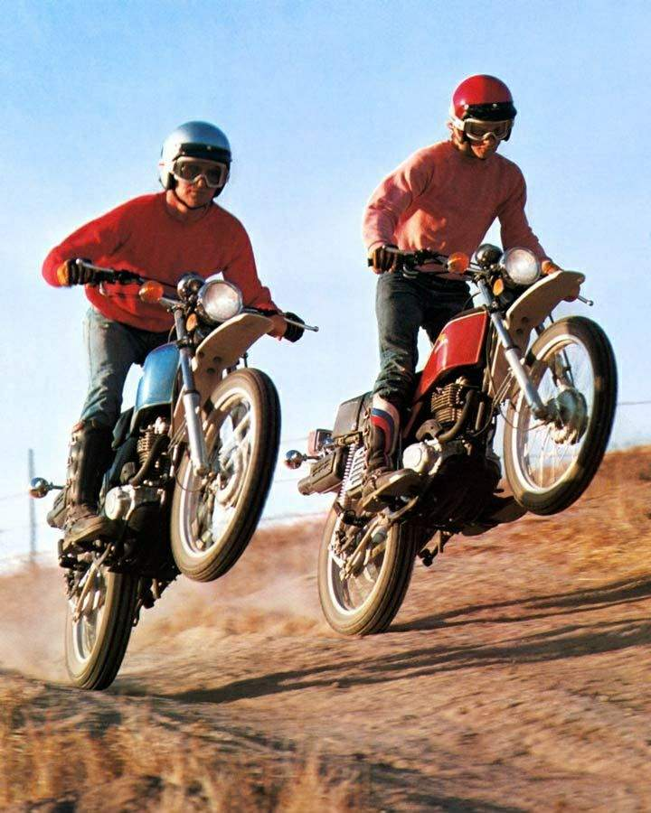 Honda XL125S on