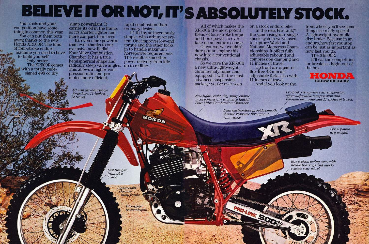 Honda XR 500RE