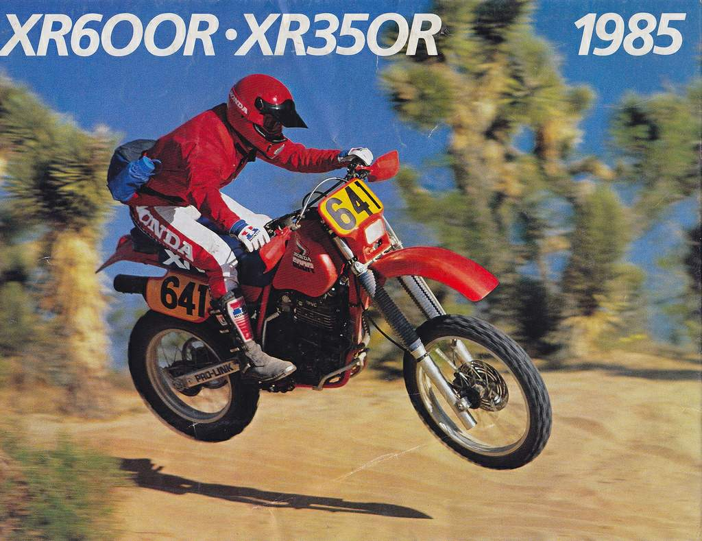 Honda Xr R on 2000 Honda Xr 600