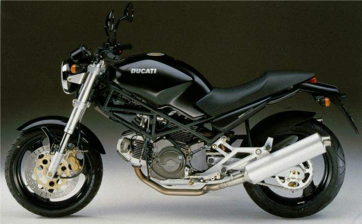 Ducati Monster 600 Dark Edition Idea Di Immagine Del Motociclo