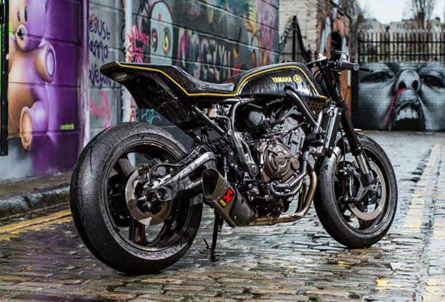 Yamaha XSR700 Double Style Yard Built By Rough Crafts