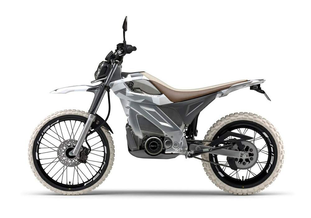 Yamaha ped2 concept electric motorcycle for Yamaha electric motorcycle
