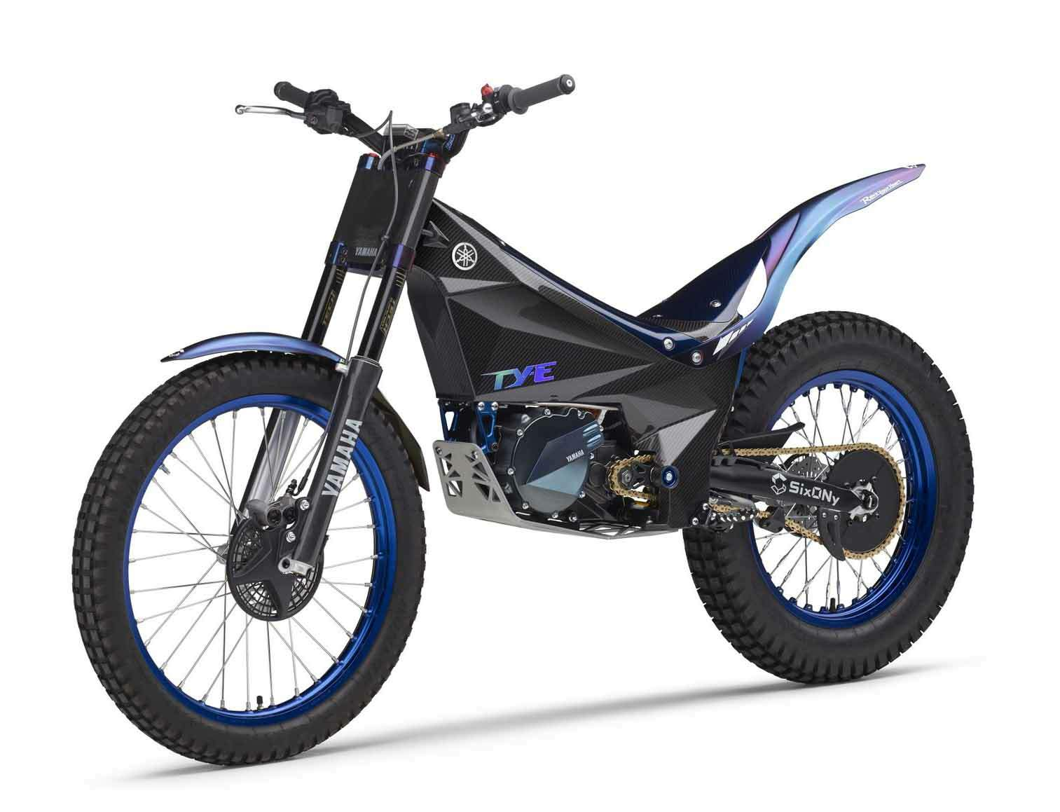 Yamaha Electric Motorcycle >> Yamaha Ty E Electric Trials