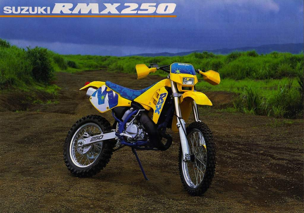 Tremendous Suzuki Rmx 250S Theyellowbook Wood Chair Design Ideas Theyellowbookinfo